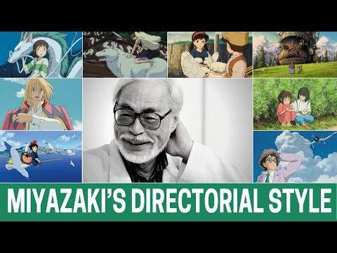 Hayao Miyazaki As A Director