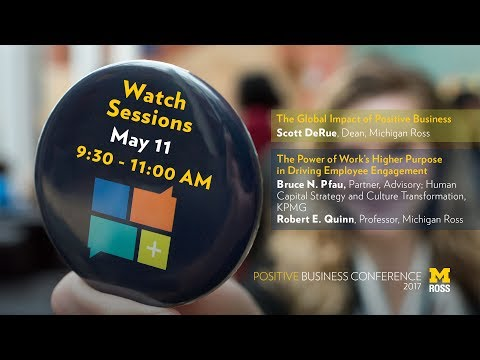 Positive Business Conference 2017 - Day One Morning Session