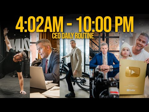 Daily Routine of a CEO - How I Structure my Day (Update)