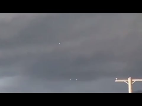Three UFOs Seen Flying Together Over Salt Lake City, Utah ( May 22, 2018 )