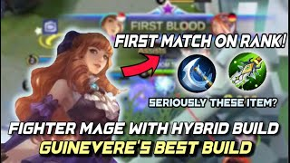 BEST HYBRID BUILD FOR GUINEVERE - MOBILE LEGENDS BANG BANG