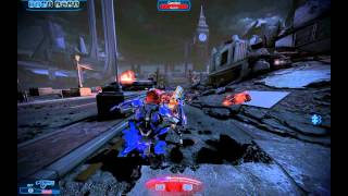 Mass effect 3 Vanguard gameplay (insanity)