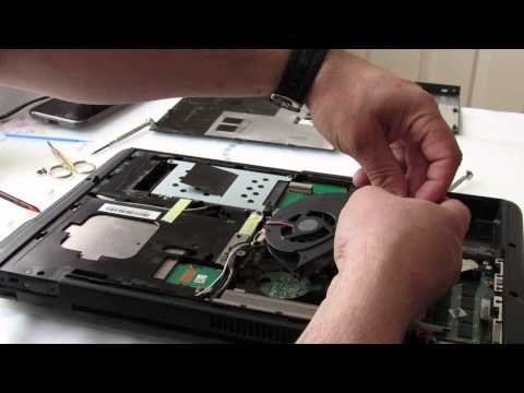 Cleaning And Replacing Thermal Compound On ASUS Laptop 2(BG)