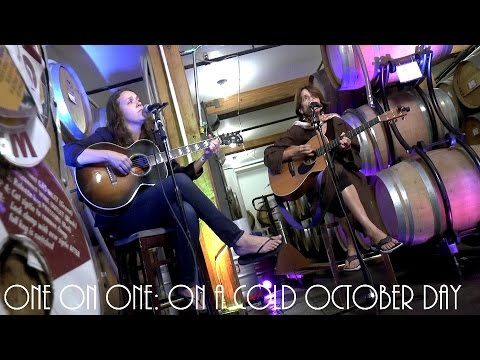 ONE ON ONE: Lucy Wainwright Roche & Suzzy Roche - On A Cold October Day 9/19/16 City Winery New York