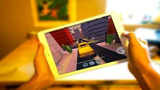 DRIVING THE MONSTER TRUCK ON IPAD! (Roblox Jailbreak)