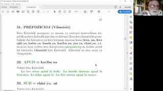 Kurso de Esperanto per la svahila de prof. Nino Vessella (parto 4/6)