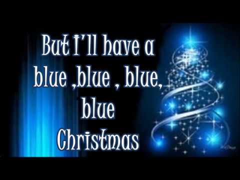 Elvis Presley Blue Christmas lyrics - YouTube