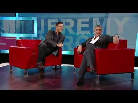 Jeremy Irons on George Stroumboulopoulos Tonight: INTERVIEW
