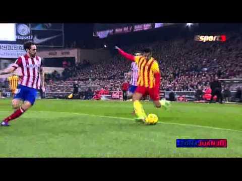 Pedro - Atlético de Madrid vs FC Barcelona [0-0][Jornada-19][2014] Highlights