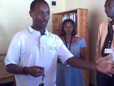 Opportunity Rwanda Staff Highlights a Village Phone Client