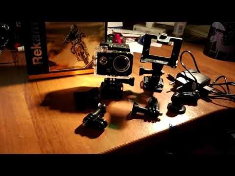 видео: Экшен камера rekam a320 4k