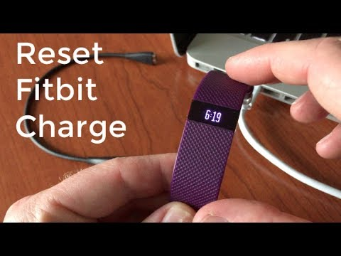 How to Reset Fitbit Charge and Charge hr
