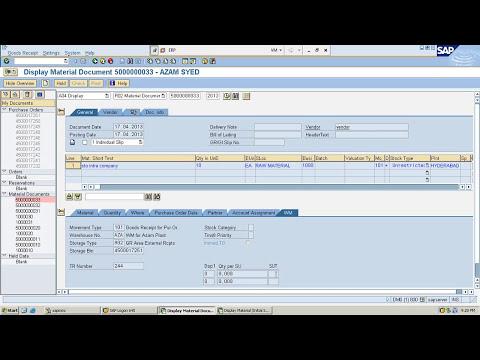 SAP WM Video Tutorials