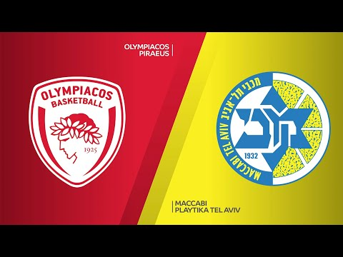 Olympiacos Piraeus - Maccabi Playtika Tel Aviv Highlights | Turkish Airlines EuroLeague, RS Round 4