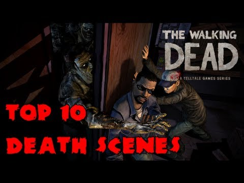 The Walking Dead: The Game - Top 10 Death Scenes