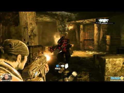 Gears of War 3 Hidden Ticker Cutscene EASTER EGG