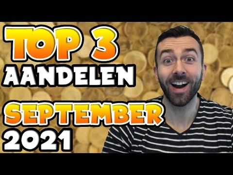 TOP 3 AANDELEN OM TE KOPEN – SEPTEMBER 2021
