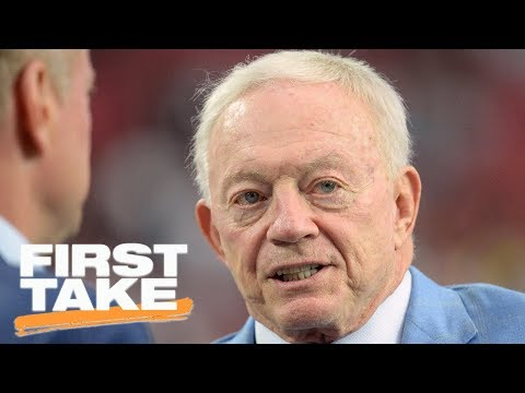 Stephen A. Smith on Jerry Jones' meeting with Cowboys over anthem rule | First Take | ESPN