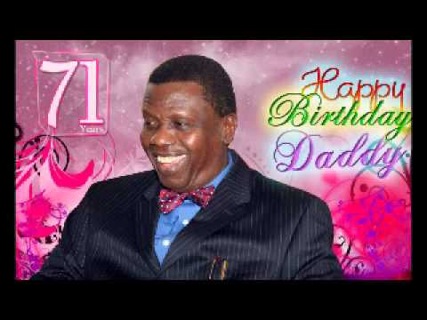 Happy birthday Daddy E.A ADEBOYE
