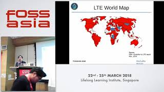 SDR LTE As IoT Cubic Satellites Communication - FOSSASIA 2018