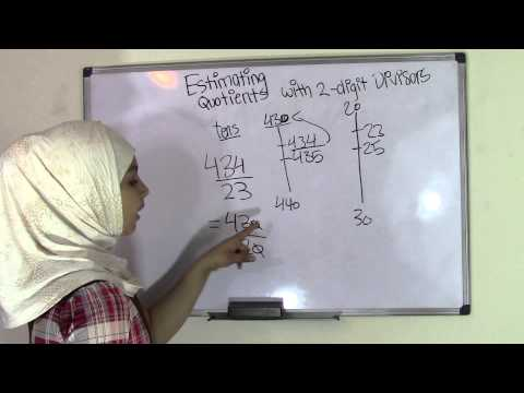 estimating quotients with 2 digit divisors worksheet grade 5 long division. Black Bedroom Furniture Sets. Home Design Ideas