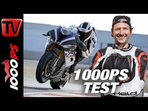 80.000 Euro Carbon-Motorrad - BMW HP4 Race Test - deutsch