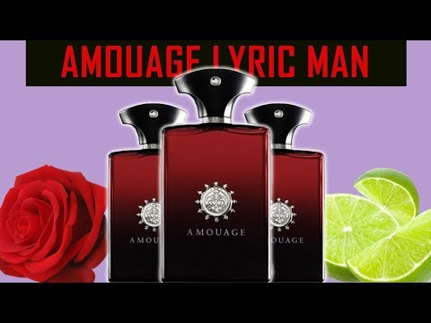 AMOUAGE LYRIC MAN FRAGRANCE REVIEW | SEXY ROSE/LIME SCENT