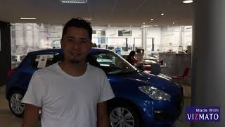 Suzuki Swift GLS azul con asientos de piel camel Video