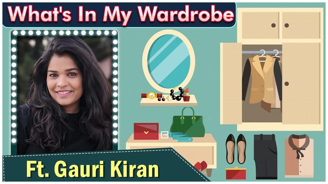 What's In My WARDROBE Ep 04 Ft. Gauri Kiran   Pushpak Vimaan   Celebrity Closet   Rajshri Marathi