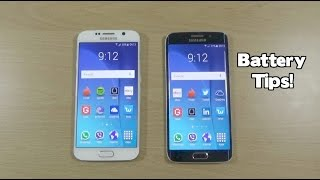 Samsung Galaxy S6 + S6 Edge Tutorial - How to Increase Battery Life!