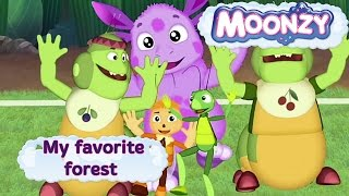MOONZY (Luntik) - My favorite forest - five episodes compilation [HD]