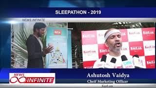 Kurl-on | Sleepathon 2019 | World Sleep Day | Ashutosh Vaidya | Elita Promenade | JP Nagar 7th Phase