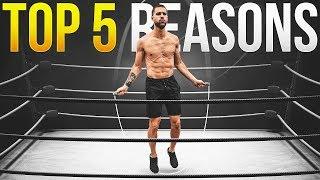 Top 5 Reasons Boxers Jump Rope