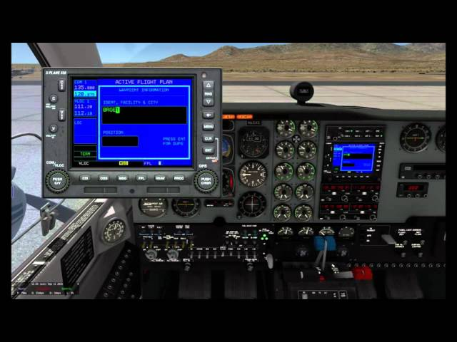 X-Plane   Learning IFR with DisgracedPilot B58
