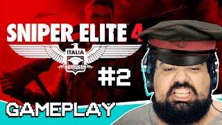 Vídeo - Sniper Elite 4 PT. 2 | Gameplay