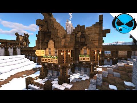 Nordic House Minecraft Tutorial | Let's Build A Nordic Village