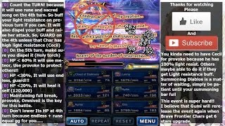 FF BE Brave Frontier Trial of Creator How to Defeat Maxwell and Evoke Diablos(#49)