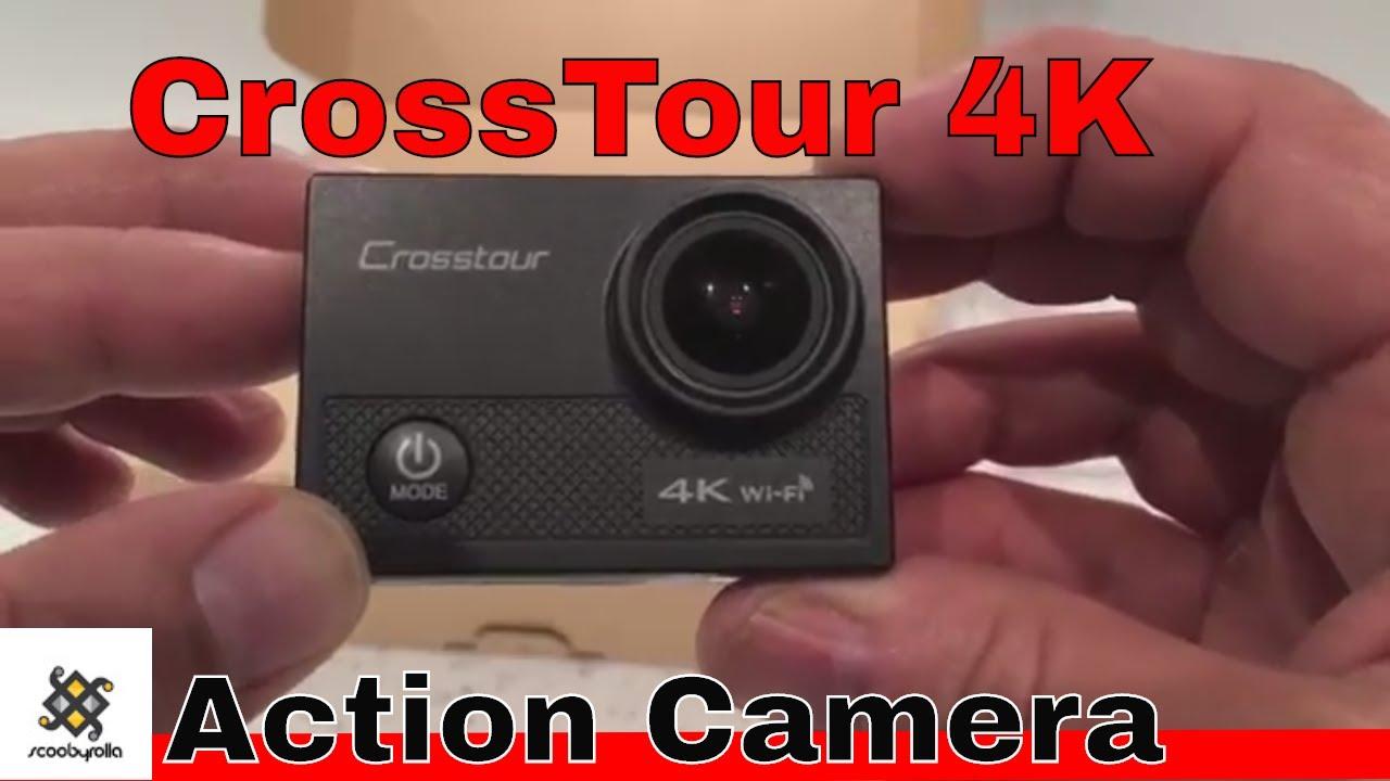 Crosstour CT9000 4K Action Camera Unboxing - YouTube c78f576431c6