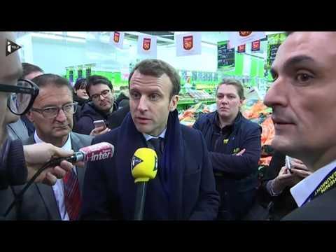 A Hénin-Beaumont, Emmanuel Macron veut défier le FN