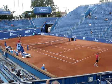 riscaldamento benoit paire al tennislife posillipo