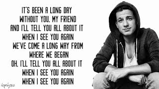 Baixar See You Again - Wiz Khalifa ft. Charlie Puth (Lyrics)