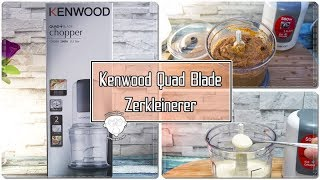 Kenwood CH580 Zerkleinerer   Universalzerkleinerer   Ideal für Soßen, Salsa oder Pesto.