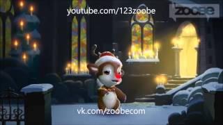 Zoobe Олень Сенсорный телефон зимой