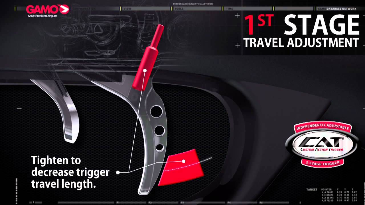 Gamo CAT (Custom Action Trigger) Technology