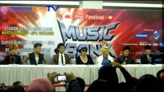 MUBANK in JAKARTA - Press Conference