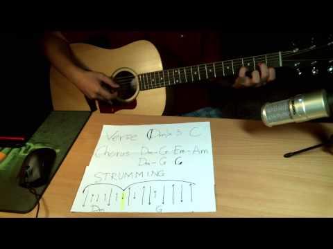 H??ng d?n BAE BAE (Big Bang) -guitar tutorial easy chords