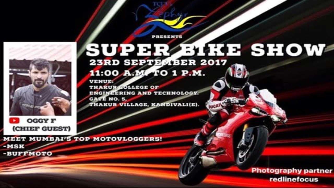 Meet Up Announcement Superbike Show Thakur College Mumbai Youtube