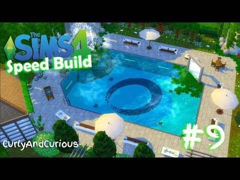 The Sims 4 - Risto/Spa VILLA CARIBE - speed build #9 [Windenburg]