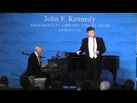 Anthony Kearns sings