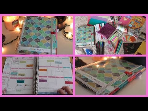 Erin condren life planner how i organize decorate it for For planner